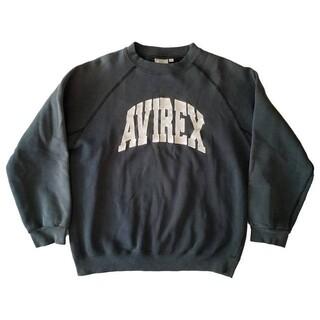 AVIREX - AVIREX U.S.A arch logo crewneck sweat