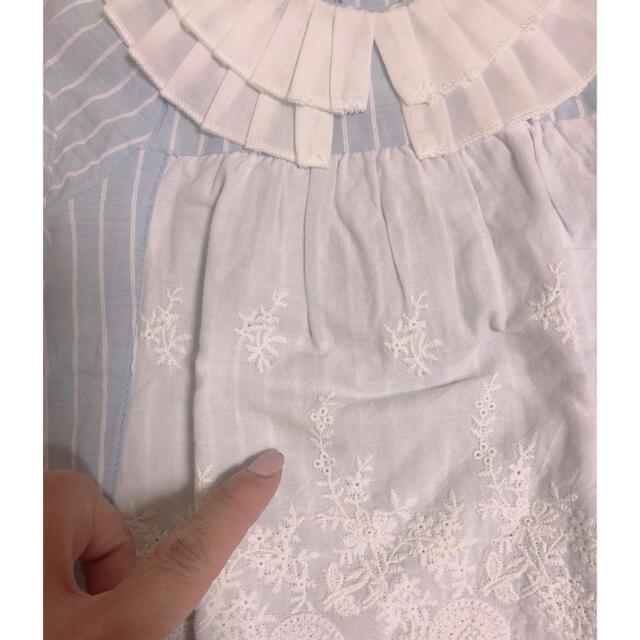 petit main(プティマイン)のベビー服 女の子 夏服  キッズ/ベビー/マタニティのベビー服(~85cm)(Tシャツ)の商品写真