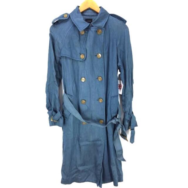 LE CIEL BLEU(ルシェルブルー)のLE CIEL BLEU(ルシェルブルー) テンセル トレンチコート レディース レディースのジャケット/アウター(トレンチコート)の商品写真