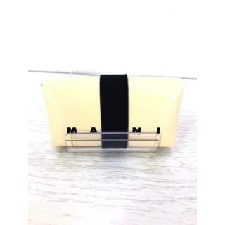 マルニ(Marni)のMARNI(マルニ) ポリエステルロゴコンパクトウォレット メンズ 財布・ケース(コインケース/小銭入れ)