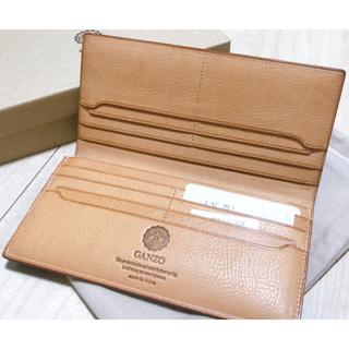 GANZO - 【GANZO】THIN BRIDLE ファスナー小銭入れ付き長財布