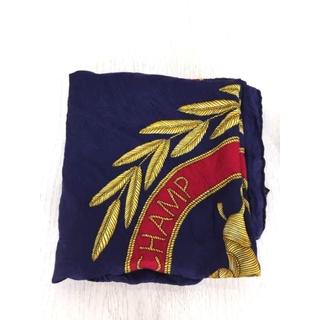 ロンシャン(LONGCHAMP)のLONGCHAMP(ロンシャン) 総柄シルクスカーフ レディース(バンダナ/スカーフ)