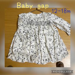 babyGAP - ベビーギャップ baby gap チュニック ブラウストップス12-18m 80