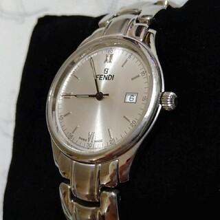 フェンディ(FENDI)の【美品】フェンディ メンズ 腕時計 210G FENDI ビジネス 父の日(腕時計(アナログ))