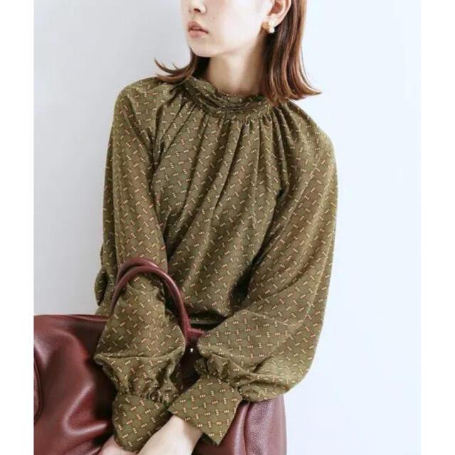 IENA(イエナ)のvintage print blouse レディースのトップス(シャツ/ブラウス(長袖/七分))の商品写真
