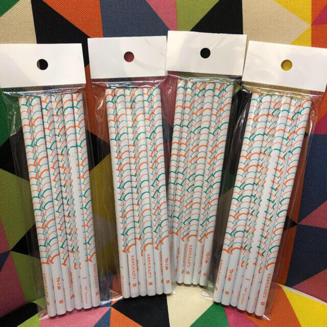 トンボ鉛筆(トンボエンピツ)のtombow トンボ もちかたえんぴつ B 4セット 3角えんぴつ 3角鉛筆 インテリア/住まい/日用品の文房具(その他)の商品写真