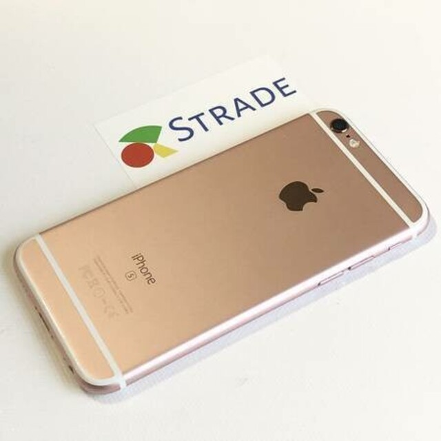 iPhone(アイフォーン)の【 STRADE 】送料無料|iPhone 6s 16gb|SIMフリー スマホ/家電/カメラのスマートフォン/携帯電話(スマートフォン本体)の商品写真