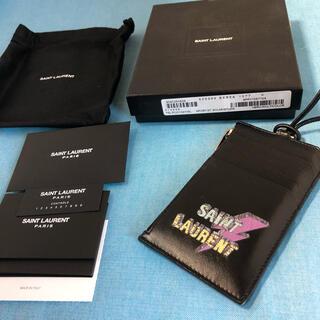 サンローラン(Saint Laurent)のSAINT LAURENTサンローラン★カードケース★Gカード箱付き(コインケース/小銭入れ)