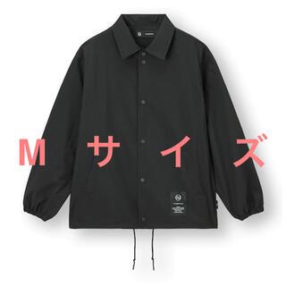 アンダーカバー(UNDERCOVER)のundercover x GU コーチジャケット ブラック Mサイズ 送込新品 (ナイロンジャケット)