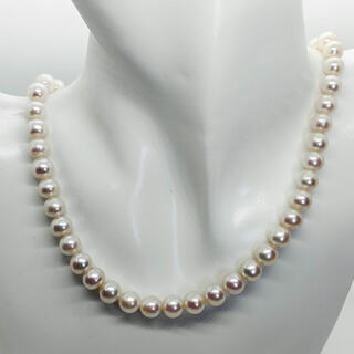 パールネックレス 本真珠 真珠 パール ネックレス Sv
