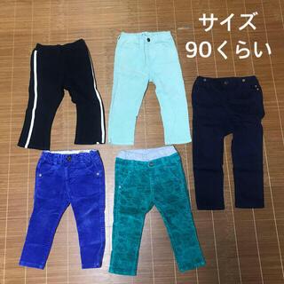 サイズ90  パンツ  まとめ売り(パンツ/スパッツ)