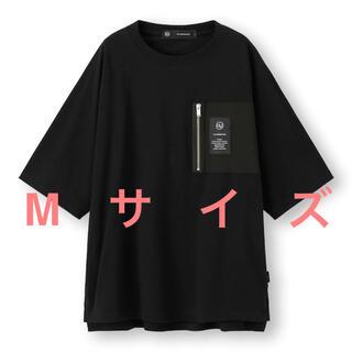 UNDERCOVER - undercover GU ビッグジップポケットT(5分袖) Mサイズ ブラック