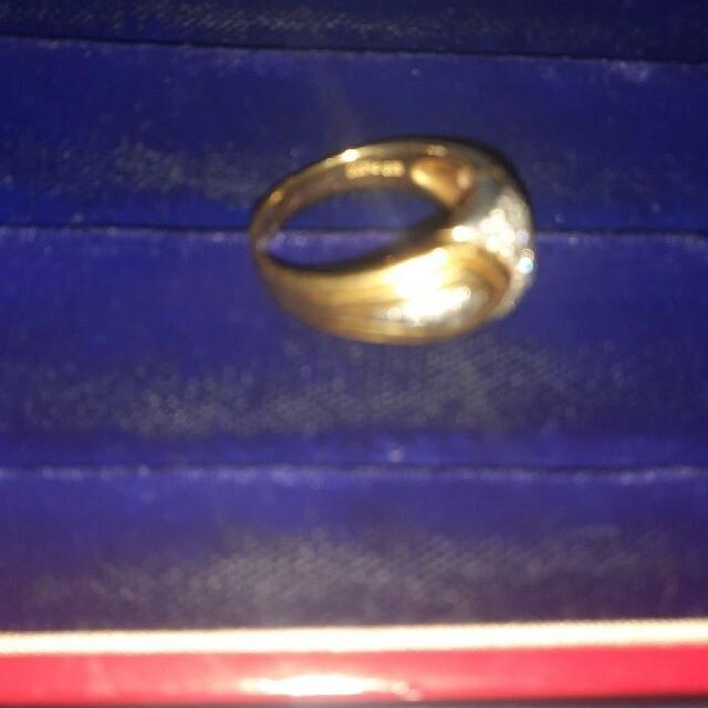 k18とプラチナとダイヤモンド レディースのアクセサリー(リング(指輪))の商品写真
