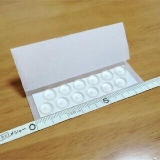 *住友 3M社/日本製_デッキパッド_透明(半球形状) 中12個 送料込み(アクセサリー)