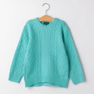 green label relaxing - 新品 グリーンレーベルリラクシング ケーブルニット セーター