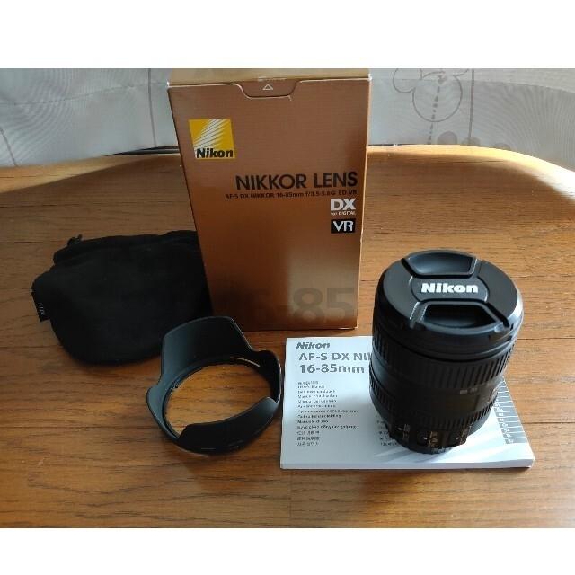 Nikon(ニコン)のニコン16-85 スマホ/家電/カメラのカメラ(レンズ(ズーム))の商品写真