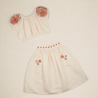 Caramel baby&child  - apolina kids VELMA SET - IVORY 3-5y