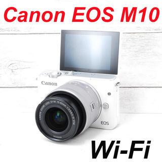 Canon - ❤️Wi-Fiでスマホへ❤️自撮り❤️Canon EOS M10
