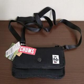 CHUMS - 【新品】Chums Mini Pouch Sweat 黒