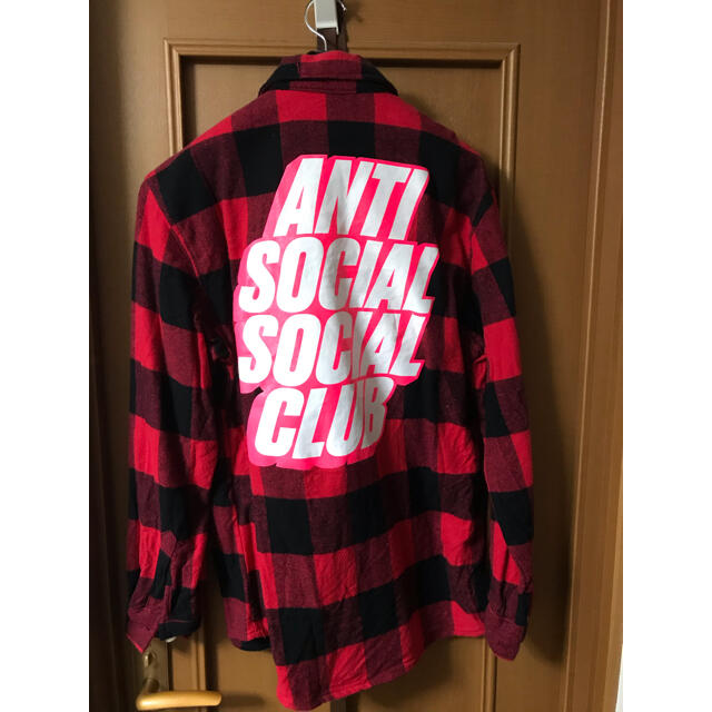ANTI(アンチ)のANTI SOCIAL SOCIAL CLUB フランネルシャツ S メンズのトップス(シャツ)の商品写真