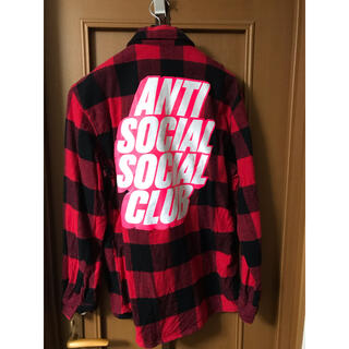 ANTI SOCIAL SOCIAL CLUB フランネルシャツ S