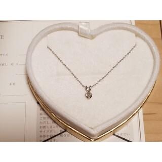 サマンサティアラ(Samantha Tiara)の新品 サマンサティアラ 18金 ダイアモンド ネックレス ホワイトゴールド(ネックレス)