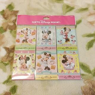 ミニーマウス(ミニーマウス)のディズニー ミニー ミニーマウス グッズ メモ帳 未使用 匿名配送(キャラクターグッズ)
