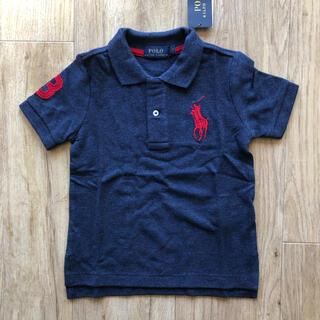 ラルフローレン(Ralph Lauren)のラルフローレン キッズ ポロシャツ ヘザーネイビー 110 子供服 ビッグポニー(Tシャツ/カットソー)