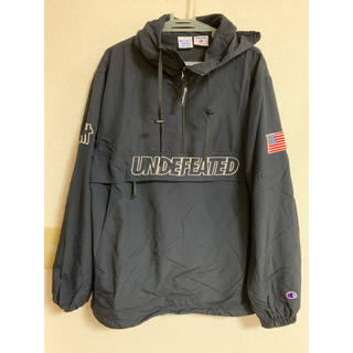 UNDEFEATED - undefeated×champion ナイロンパーカー