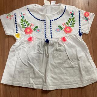 ZARA KIDS - ZARAキッズ 刺繍Tシャツ 98