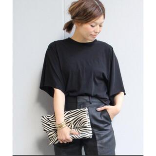 DEUXIEME CLASSE - DeuxiemeClasse ワイドスリーブTシャツ ドゥーズィエムクラス  黒