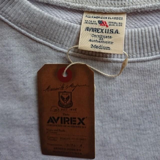 AVIREX(アヴィレックス)のAVIREX クルーネックスウェットトレーナー メンズのトップス(スウェット)の商品写真