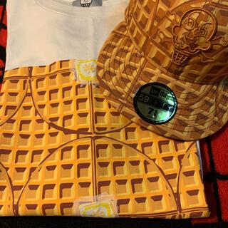 アイスクリーム(ICE CREAM)のメンズBBC ice creamニューエラキャップ&Tシャツ(Tシャツ/カットソー(半袖/袖なし))