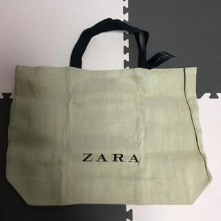 ザラ(ZARA)のZARA ザラ 新品 ジュートバッグ(エコバッグ)