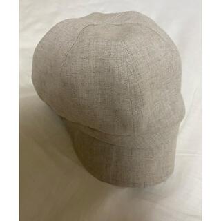 MUJI (無印良品) - 無印良品 帽子 キャスケット