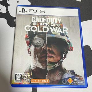 プレイステーション(PlayStation)のcall of duty black ops cold war PS5(家庭用ゲームソフト)