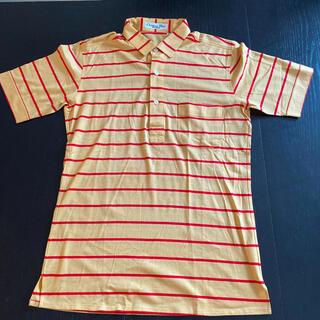 クリスチャンディオール(Christian Dior)のクリスチャンディオール メンズボーダーポロシャツMサイズ(ポロシャツ)