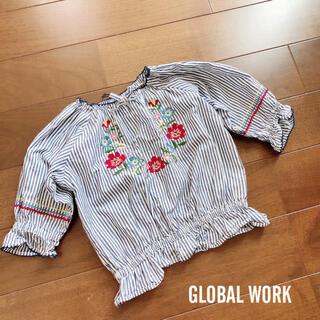 グローバルワーク(GLOBAL WORK)のGLOBAL WORK トップス 100〜110cm(Tシャツ/カットソー)