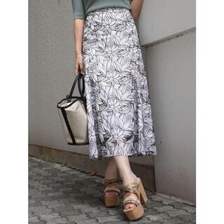 MERCURYDUO -  MERCURYDUO カットワーク刺繍ナロースカート 2021