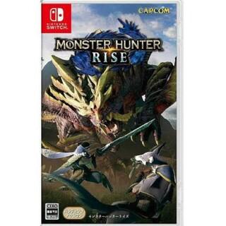 Nintendo Switch - モンスターハンターライズ Nintendo Switchソフト 新品未開封品