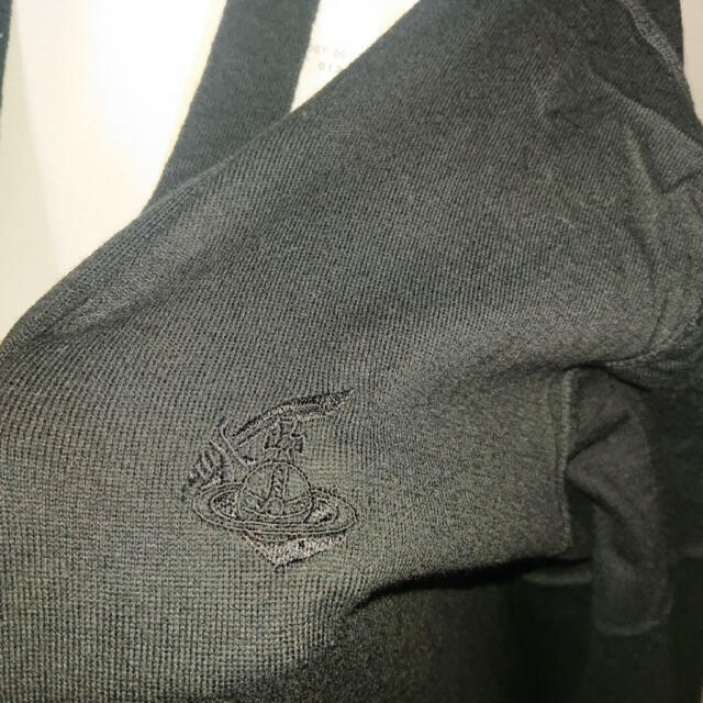 Vivienne Westwood(ヴィヴィアンウエストウッド)のヴィヴィアン ウエストウッド 新品 オーブ ダメージ加工 ロング カーディガン レディースのトップス(カーディガン)の商品写真