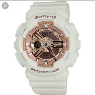 Baby-G - CASIO Baby-G 腕時計 ホワイト