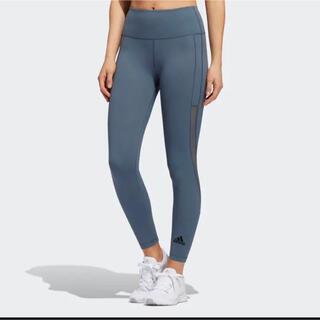 adidas - 【新品】スポーツ レギンス パンツ ヨガパンツ adidas ブルー 青