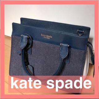 kate spade new york - 【美品】 キャメロン デニム カラーブロック スモール サッチェル