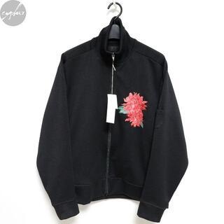 Yohji Yamamoto - 20SS ヨウジヤマモト ジャージ 花柄 刺繍トラックジャケット黒3新品サイト