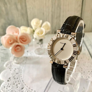 Tiffany & Co. - 【動作OK】TIFFANY&Co ティファニー アトラス 腕時計 レディース