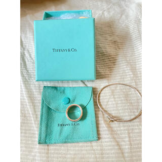 Tiffany & Co. - Tiffany ティファニー ブレスレット&リング 2点セット