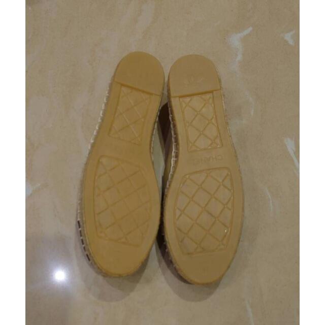 CHANEL(シャネル)のシャネル エスパドリーユ ノベルティ レディース靴 CHANEL レディースの靴/シューズ(スリッポン/モカシン)の商品写真