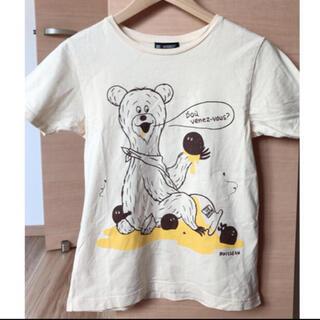 ビームスボーイ(BEAMS BOY)のビームスボーイ♡くまさんTシャツ クリーム色(Tシャツ(半袖/袖なし))