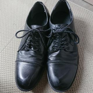 ジーユー(GU)の革靴 黒 (ドレス/ビジネス)